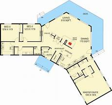 c foster housing floor plans c shaped floor plan 77135ld architectural designs