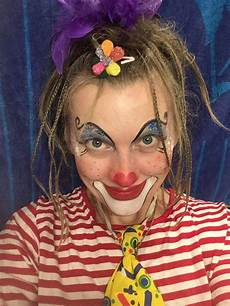 clown frau schminken frau clown eventpeppers