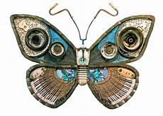 mariposas hechas con materiales encontrados en la basura quiero m 225 s dise 241 o