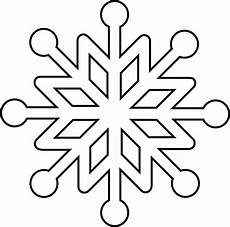 snowflake coloring page at getdrawings free