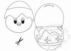 easter craft for children coloring page