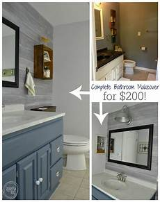 vintage rustic industrial bathroom reveal cheap bathroom