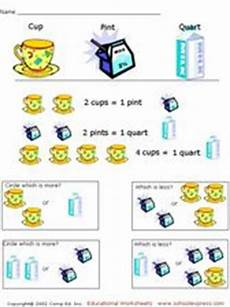 free liquid measurement worksheets 2021 comparing liquid measurements 3rd 4th grade worksheet lesson planet
