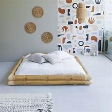 vendita futon bamboo bed 160x200 balyss bed sale at tikamoon