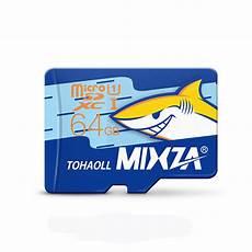 Mixza Shark Edition Memory Card 64gb mixza shark edition memory card 64gb micro sd card class10