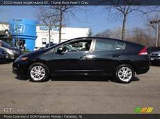 crystal black pearl 2010 honda insight hybrid ex gray interior gtcarlot com vehicle