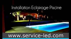 Installation Eclairage Piscine Par Ruban Led