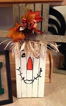 herbstdeko holz selber machen handicraft with materials in autumn 33