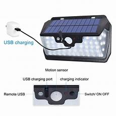 Bakeey 800lm 53led Solar Remote by 55 Led Solar L 800lm Usb Charging With Remote