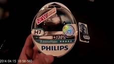 test philips h7 x treme vision 130 philips w5w xenon