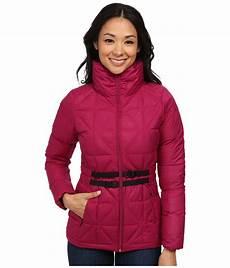 the belted mera peak jacket in purple lyst
