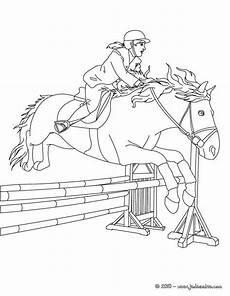 Ausmalbilder Pferde Springreiten Ausmalbilder Pferde Turnier Kostenlose Malvorlagen Ideen