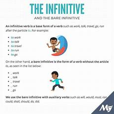 what is the difference between the infinitive and the bare infinitive myenglishteacher eu