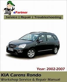 car repair manual download 2009 kia carens user handbook kia carens rondo service repair manual 2002 2007 automotive service repair manual