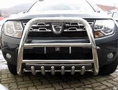 Dacia Duster 2014 Pare Buffle Haut Avec Grille De
