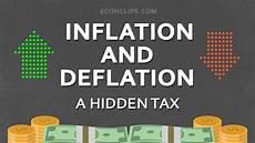inflation und deflation inflation and deflation a tax