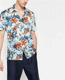 camicie fiori uomo zara uomo la nuova collezione estate 2016 foto