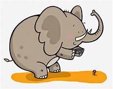 Update Gambar Kartun Gajah Lucu Terkini Gambar Kartun