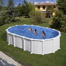 piscine hors sol piscine hors sol ovale gre mod 232 le haiti