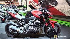 2018 Kawasaki Z900 A2 Walkaround 2017 Eicma Milan
