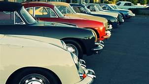 Vintage And Classic Cars In Row Images  HD Wallpapers