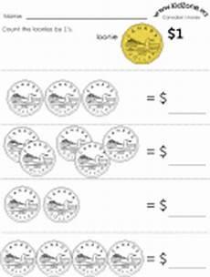 money worksheets kidzone 2415 canadian money worksheets