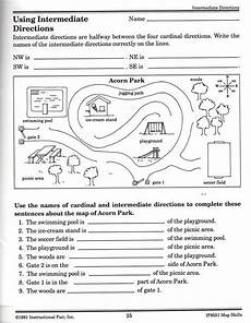 teaching directions year 1 11789 intermediate directions worksheet map skills worksheets geography lessons homeschool social