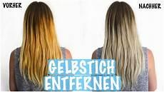 gelbstich haare entfernen hausmittel gelbstich aus blonden haaren entfernen haare ohne f 196 rben