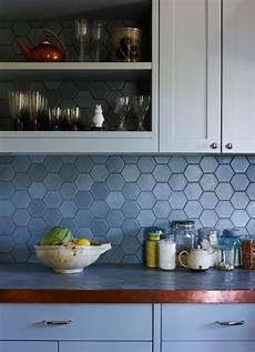 Blue Tile Backsplash Kitchen Photo 9 Of 49 In 50 Brilliant Backsplash Ideas For Your