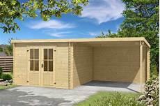 28 mm gartenhaus mit anbau ger 228 tehaus blockhaus holzhaus