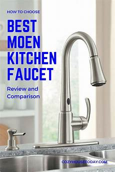 top 9 best moen faucets for kitchen honest reviews
