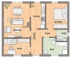 Kleine Bungalows Grundrisse - fertighaus der bungalow 78 hausansicht grundriss h 228 user