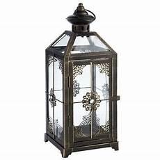black metal jeweled lantern lanterns