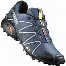 salomon speedcross 3 herren laufschuhe slate blue black