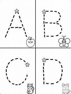 letter a tracing worksheets preschool 23838 abc 123 tracking pages for letters numbers alphabet mini book alphabet preschool