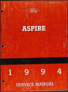 1994 ford probe repair shop manual original 1994 ford aspire repair shop manual original