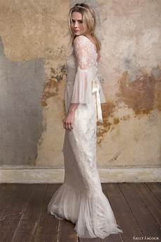 Vintage Wedding Dresses With Bell Sleeves