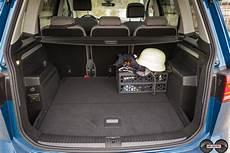 kofferraumvolumen opel zafira vw touran kofferraum 5 sitzer ubi testet