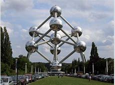 De Eiffeltoren, Het Atomium, De Big Ben, Het Colosseum, D
