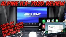 alpine ilx 702d alpine ilx 702d review dab bluetooth carplay