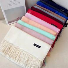Chanycore Sheep Stick Solid Color Winter Scarf