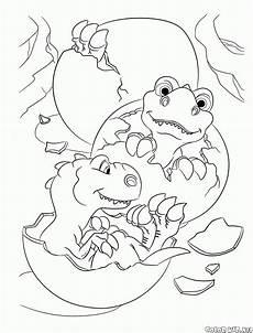 malvorlagen age die dinosaurier sind los