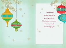 great grandma ornaments merry christmas card greeting cards hallmark