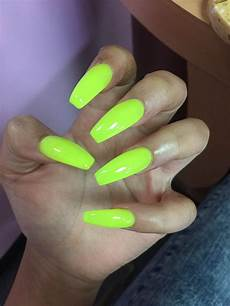 truubeautys lime green nails green nails