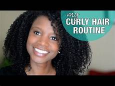 my curly hair routine nik youtube