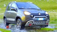 New Fiat Panda Cross 4x4 2017 Test Drive Road