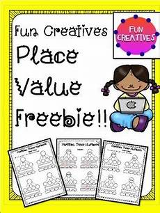 place value and partitioning worksheets 5642 place value partitioning freebie worksheets by creatives tpt