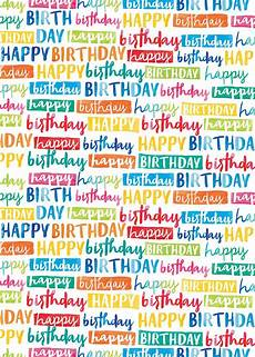 painted birthday gift wrap suitable for any age birthday