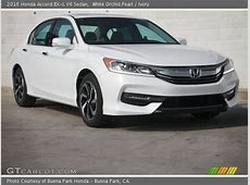 White Orchid Pearl   2016 Honda Accord EX L V6 Sedan