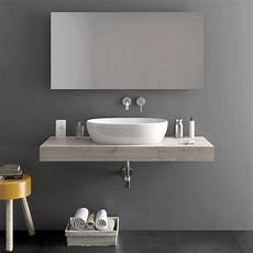 mensole per il bagno top in legno da 120 cm mensola per lavabo bagno moderno